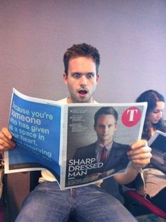 Sharp Dressed Man #halfadams #patrickjadams #suits Suits USA