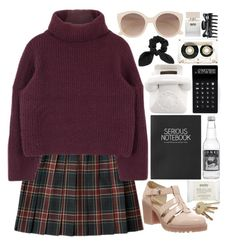 """""""With the lights out, it's less dangerous"""" by ayeitzsarah ❤ liked on Polyvore featuring Vagabond, Topshop, Witchery, Jonathan Adler, LEXON, Bella Freud, CASSETTE, ULTA, philosophy and madebysarahrose"""