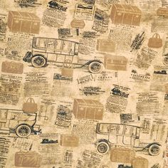 Vintage  Car Style Background  Letter Mural Wallpaper Vinly Decor Wall Paper Old Newspaper for living room papel de parede