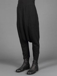 Darkside w/ Aleksandr Manamis low crotch ankle boots
