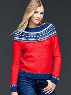 Shop the latest arrivals in women's clothes at Gap, where quality and comfort meets style. We've got you covered from head-to-toe with outfits for any occasion. Red Sweaters, Sweaters For Women, Baby Kids Clothes, Clothes For Women, Icelandic Sweaters, Gap Women, Blue Fashion, Women's Fashion, Fashion Trends