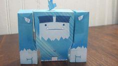Little Blue Yeti Papercraft