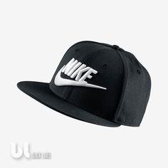 6aec860d Nike Futura True 2 Snapback Unisex Kappe Damen Herren Kinder Mütze Schwarz  Weiß in Kleidung &
