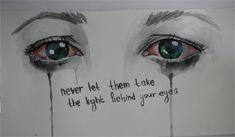 the light behind your eyes by itmeansalotofyou.deviantart.com on @deviantART