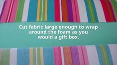 How to Make a No Sew Chair Cushion Cover | In My Own Style Paint Furniture, Furniture Makeover, Paneling Makeover, Stripping Furniture, Chair Makeover, Tissue Box Covers, Tissue Boxes, Wood Slat Wall, Wood Paneling
