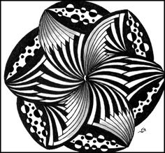 Artful Mondays: How to make cool art by doodling – I'd Rather Be ...