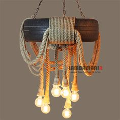 Loft style Industry 6 Heads Tire rope Vintage industrial pendant lighting lamp fixture for Bar Restaurant Coffee hall Rope Pendant Light, Pendant Light Fixtures, Pendant Lamps, Pendant Lights, Bathroom Pendant Lighting, Track Lighting Fixtures, Living Room Lighting, Bedroom Lighting, Old Fashioned Light Bulbs
