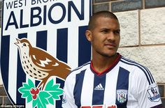 Salomon Rondon signs for West Bromwich Albion in a £12m move #dailymail