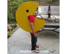 DIY Pacman Halloween Costume with detailed step by step instructions: DIY boy halloween costumes: DIY Pacman Costume