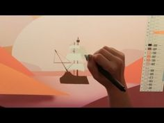 Art Attack // ADVENTURE! Timelapse Art by Samantha Kallis