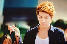 Kris!!  EXO-M  He should play cloud in a live action ffvii movie lol