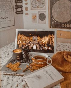 flat lay photo inspo - Book and Coffee Photo Harry Potter, Book And Coffee, Fall Inspiration, Autumn Cozy, Autumn Fall, Hello Autumn, Autumn Photography, Autumn Aesthetic Photography, Happy Fall