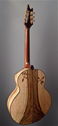 Yong JJ Mango Special Acoustic Guitar (back)