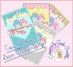 Countdown free San Valentino...voglia di primavera... http://graficscribbles.blogspot.it/2014/01/san-valentino.idde-grafica-countdown-amore-biglietti-frasi.html