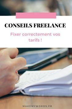 Fixez vos tarifs : conseils freelance