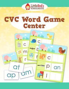 CVC Word Game Center Work Station $