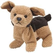 1996 Retired New With Tags TY Beanie Baby - TUFFY the Dog