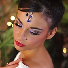 Indian Wedding Hair and Makeup Wedding Hair And Makeup, Hair Makeup, Wedding Stuff, Wedding Photos, Indian Wedding Hairstyles, Alsace, Wedding Reception, June, Hair Styles