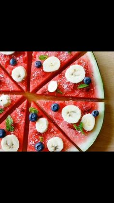 watermelon pizza!