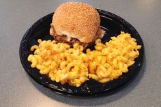 Pulled pork and macaroni and cheese from Tennessee's, Braintree, MA (from http://hiddenboston.com/foodphotos/tennessees-pork-mac.html) #BBQ #Braintree