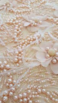 New 3d luxury hand made lace fabric