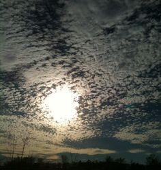 craziest sky I ever saw..