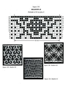 Mosaic Knitting Barbara G. Walker (Lenivii gakkard) Mosaic Knitting Barbara G. Walker (Lenivii gakkard) #192