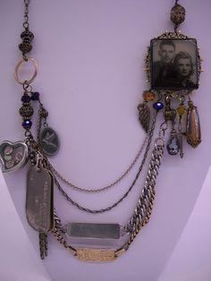 Memory Necklace idea