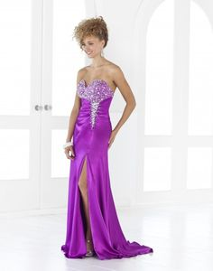 Blush Prom creates prom dresses that combine your favorite design with the price you are searching for when on a budget. Shop Blush Prom dresses now to find your dream look! Split Prom Dresses, Blush Prom Dress, Sweetheart Prom Dress, Blush Dresses, Strapless Dress Formal, Dress Prom, Prom Gowns, Slit Dress, Pageant Dresses