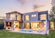 Modern lifestyle and secure estate living in Sandton. Mansions, Lifestyle, House Styles, Hot, Modern, Home Decor, Mansion Houses, Homemade Home Decor, Trendy Tree