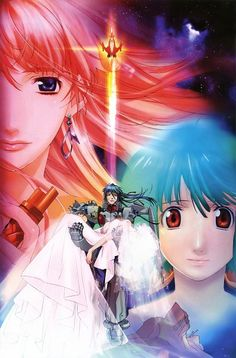 Tags: Anime, Macross Frontier, Ranka Lee, Sheryl Nome, Saotome Alto