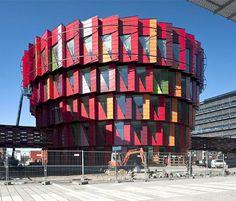 Multi Hued Kuggen Building