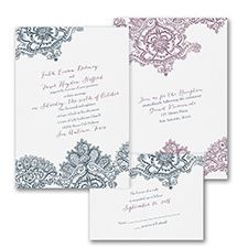Lacy Look - Invitation