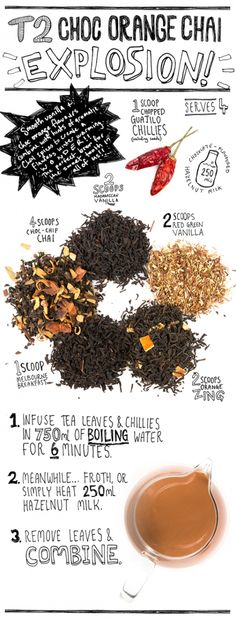 Explore our signature blend inspired by the Indian masala chai. Chai loose leaf or chai teabags? Tea Recipes, Raw Food Recipes, Coffee Milk, Fruit Drinks, Coffee Design, My Cup Of Tea, Tea Accessories, Tea Ceremony, Iced Tea