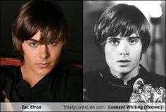 Zac Efron and Leonard Whiting
