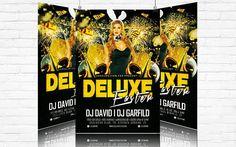 Deluxe Easter Party – Premium Flyer Template http://www.exclusiveflyer.com/seasonal-flyers/deluxe-easter-party-premium-flyer-template/