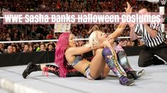WWE Sasha Banks Superstars Halloween costumes are going to be bankable this Halloween! Ladies will want to be the sexy WWE Diva this year.  Sasha Banks is the ...