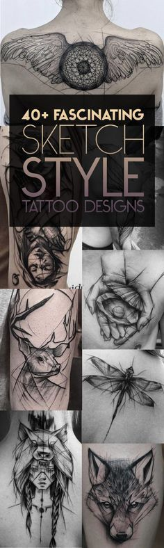 40 Fascinating Sketch Style Tattoos | TattooBlend tatuajes | Spanish tatuajes |tatuajes para mujeres | tatuajes para hombres | diseños de tatuajes http://amzn.to/28PQlav