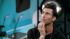 17. When he gets lost in his thoughts ~ Gif