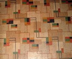30 Patterns For Vinyl Floor Tiles From The 1950s