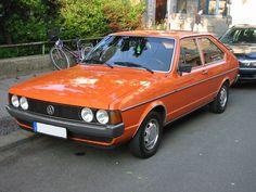 Der erste eigene Wagen ! Und der war 1995 schon zwölf Jahre alt... :)