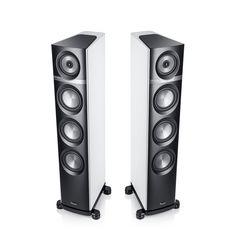 Definion 5 High-End-Stereo-Lautsprecher mit kompromisslos unverfälschter Wiedergabe; Patentiertes SCA-Koaxial-Chassis für hervorragende Räumlichkeit & Abstrahlverhalten! Triple-Bass-Prinzip für überragende Dynamik, Impulstreue & Tiefbass
