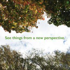 """""""See things from a new perspective."""" I """"Tarkastele asioita uudesta näkökulmasta."""" by Coriosi www.coriosi.com"""