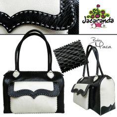 MACA: bolso Jacaranda, en cuero, hecho a mano. #bags #bolsos #handmade #hechoamano