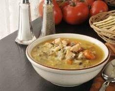 Soupe au poulet et riz à la brésilienne : http://www.cuisineaz.com/recettes/soupe-au-poulet-et-riz-a-la-bresilienne-49825.aspx