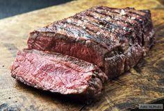 Fleisch bei Niedrigtemperatur gegart