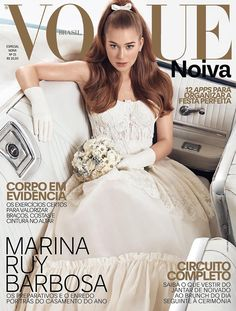 Marina Ruy Barbosa by Gil Inoue for Vogue Bride Brazil No.25 2017 Covers