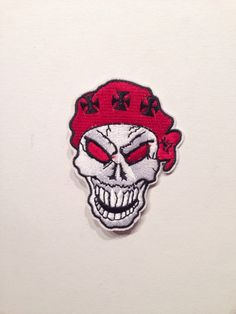 #Parche calavera pañuelo cruz templario para planchar clothing #skull