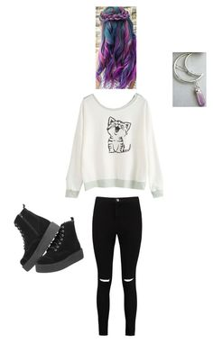 """""""Untitled #591"""" by abby-white-2 ❤ liked on Polyvore featuring Boohoo"""