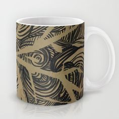 Enlightenment - Acrylic and Ink paint Mug
